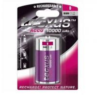 Texcus Góliát D  akkumulátor , 10000mA (TCM 10000D) . Feszültsége 1,2 V, kapacitása 10000 mAh. Akkumulátortechnológiája NiMh, mérete góliát (D).