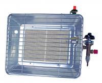 A Rothenberger Industrial Eco hősugárzó, acéllemez házzal készült, kültéri használatra. Közvetlenül normál gázpalackra csatlakoztatható. P   iezoelektromos gyújtással felszerelve.    A hősugárzó alkalmas helyi hőmérséklet beállítására, pl kiállító sátrak, kerti partik helyi hőérzetének javítására. A készülék segítségével meghosszabbíthatja a szabadban eltöltött pihenőidőt. Teljesítménye 2,7-4,2kW. A melegítő fej 180 mm széles és 125 mm hosszú.