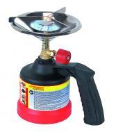 A Rothenberger Industrial kemping főző (gázrezsó)1 égős kivitelben készült. Az égő és a szélvédő anyaga rozsdamentes acél. A Rothenberger Industrial 200 C gázpatronnal működik, amelyegyszerűen és könnyen cserélhető. Égési ideje kb 3,5 óra. A biztonságos szállítást és kezelést a kiegészítő fogantyú segíti elő. A készülék kiválóan használható pl kempingezőknek, túrázóknak, horgászoknak...