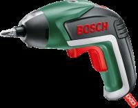 A   Bosch  IXO V lítium-ion  akkus csavarhúzó   az eredeti lítium-ionos technológiának köszönhetően a készülék mindig használatra kész, nincs memóriaeffektus, nincs önkisülés. Az ergonomikus kialakítás által több fogási helyzetet is lehetővé tesz, tehát a nehezen hozzáférhető helyeken is egyszerűen dolgozhat vele.   Beépített  Power LED- lámpakoncepcióval  rendelkezik, amely állítható, így választhat a pontszerű és a szórt fény között.  Innovatív LED-es töltési állapot kijelzőnek segítségével információt kapunk az akkumulátor töltöttségi szintjéről. A csavarok kézi meghúzásához vagy kilazításához automatikus tengelyreteszelés funkcióval rendelkezik. A biztosabb és kényelmesebb fogás érdekében a markolat Softgrip gumimarkolat.    A gyors feltöltést a MicroUSB- töltő garantálja, valamint 10 szabványos csavarozóbittel együtt szállítjuk.