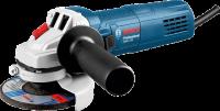 A   Bosch  GWS 750  sarokcsiszoló  (115 mm)  erős, 750 W motorja és kis súlya elősegíti a tartós és kényelmes használatot. A kompakt keskeny védőburkolat legnagyobb előnye, hogy a nehezen hozzáférhető helyeken is könnyedén tudja a munkát végezni. A sarokcsiszoló élettartamát fokozza a javított hatásfokú hűtés és a tekercsek erőteljesebb por elleni védelme. A Bosch GWS 750  sarokcsiszoló  115 mm átmérőjű csiszolókoronggal működtethető. Ergonomikus kialakítás, könnyű kezelés és ideális szerszámvezetés jellemzi a gépet. Üresjárat fordulatszáma 11000 ford./perc.    A csomagolás tartalma a segédmarkolat és a védőburkolat.