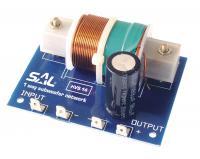 SAL HVS 14 hangváltó  , ideális maximum 300 W teljesítményig. Vágási frekvencia 120 / 160 Hz, levágási meredekség 12 dB / oktáv, szub-basszus sugárzóhoz. Egy irányú kivitel.