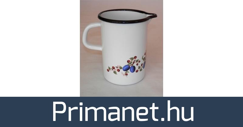 9da8511e4f Bonyhádi zománcozott tejforraló csőrös mércés - PrimaNet online szakáruház
