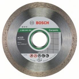 Bosch Standard for Ceramic gyémánt darabolótárcsa Kerámia , 115-22,23 (2608602201)