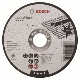Bosch Expert for Inox daraboló tárcsa egyenes, AS 46 T INOX BF, 125 mm, 22,23 mm, 2 mm (2608600094)
