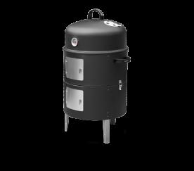 Barbecook házi füstölő kemence, füstölőhordó