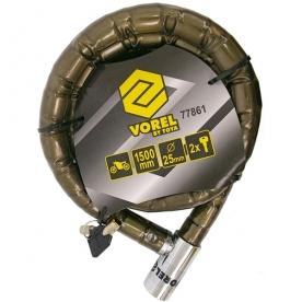 Motorkerékpár zár 25 mm (77861)