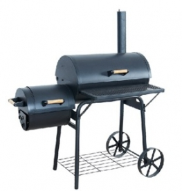 Faszenes grillmozdony, smoker grill (15056) (15056)
