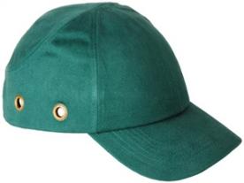Baseball sapka beépített protektorral, zöld (57302)