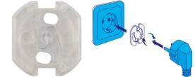 Home gyermekvédő hálózati aljzatba 6 db (NV 10T)