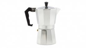 Kávéfőző 6 személyes kotyogós, alumínium (28405)