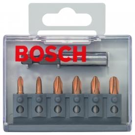 Bosch 7 részes bitkészlet Max Grip (PH) (2607001939)