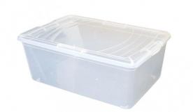 Műanyag clicktetős doboz 11,8 liter
