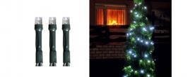 Home LED-es fényfüzér hidegfehér, kültéri (LED 208/WH)