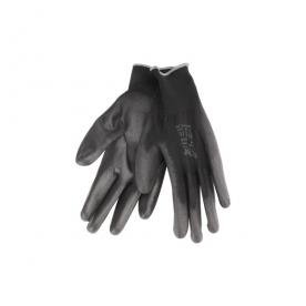 Extol Premium Kötött kesztyű, fekete poliészter, 11-es (8856638)