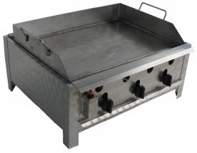 BGT-3 háromégős asztali sütő egyoldalú rostlappal, PB-gáz üzemű
