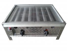 BGT-2 kétégős asztali grillező készülék, földgáz üzemű