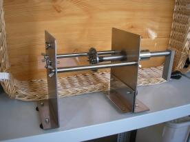 Burgonya Spirál gép, kézi