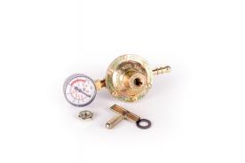 PB nyomásszabályozó manométerrel 0-4 bar 8 kg/h (2736)