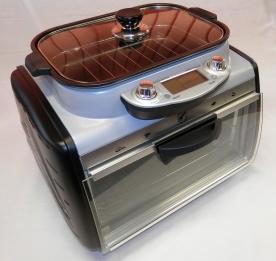 Multifunkciós minikonyha és kürtőskalács sütő