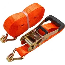 Rakományrögzítő gurtni 6mx50mm, 4000kg, kampós (8861153)