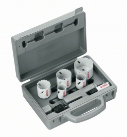Bosch 9 részes Progressor villanyszerelő körkivágó készlet (64 mm) (2608584666)