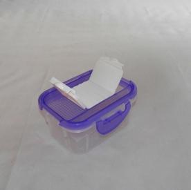 Fűszertartó szóró tetővel, lila műanyag 0,5 kg