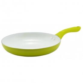 Serpenyő 26 cm, kerámia bevonattal, zöld (10184)