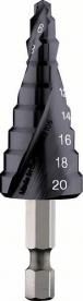 Bosch HSS-AlTiN lépcsős fúró 9 lépcsővel 4-20 mm (2608588070)
