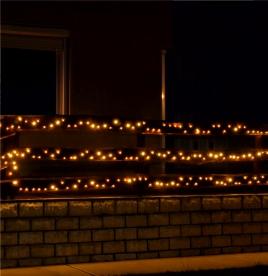 Home LED-es fényfüzér melegfehér (KKL 1000/WW)