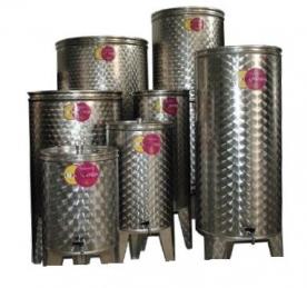 Bortartály rozsdamentes 1000 l-es 3 csappal (P1000L3)