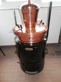 Vajda pálinkafőző 60 L-es kétlépcsős, leégésgátlóval (12268)