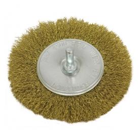Extol Craft drótcsiszoló körkefe rezezett, fúróhoz 100 mm (17055)