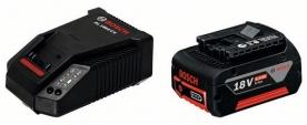Bosch 18V/4,0 Ah akku + AL 1860 CV Li-ionos gyorstöltő (1.600.Z00.043)