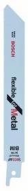 Bosch szablyafűrészlap fémhez S 922 AF, Flexible for Metal 2 db (2608656036)