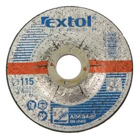 Extol Premium csiszoló korong acélhoz 115×6,0×22,2mm (8808700)