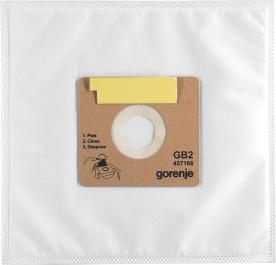 Gorenje GB2 mikroszálas univerzális porzsák szivacs szűrővel (457166)