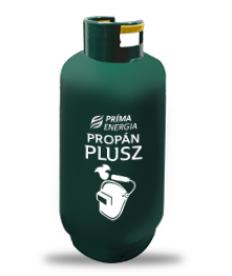 Propán Plusz palack 25 kg - fémvágáshoz