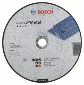 Bosch Expert For Metal darabolótárcsa egyenes, A 30 S BF, 230 mm, 22,23 mm, 3 mm (2608600324)