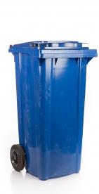 Háztartási szemetes kuka kék 120 L (11910)