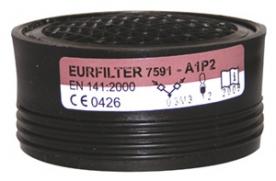 Supair Eurfilter A1P2 szűrőbetét, csavarmenetes (GAN22130)