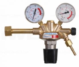 Iweld Dynareg formálógáz palack nyomáscsökkentő 230/50 l/perc 2 manométerrel