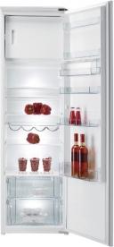 Gorenje kombinált, beépíthető hűtőszekrény RBI4181AW