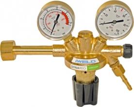 Iweld Dynareg nitrogén palack nyomáscsökkentő 230/50 bar, 2 manométerrel