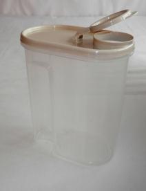 Fűszertartó műanyag 2 l vajszín