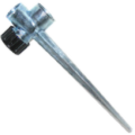 Muta leszúró tüske 1/2 fém kétutas (13427)