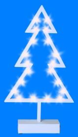 Home LED-es dekoráció, fenyőfa (KAD 14)