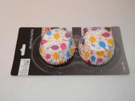 Muffinpapír lufis 100 db, nagy (72101-3)