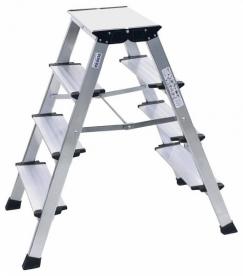 Krause Monto Treppo fellépő összecsukható 2x4 lépcsőfokos (126047)