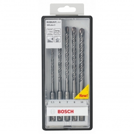 Bosch Robust Line SDS-plus-5 készlet 5 részes 5,5-6-7-8-10 mm (2607019929)
